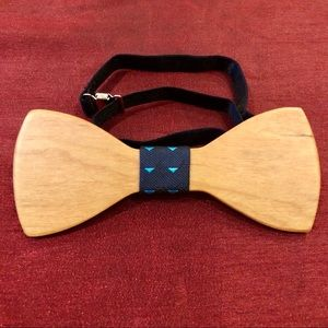 Other - Wooden Bow Tie